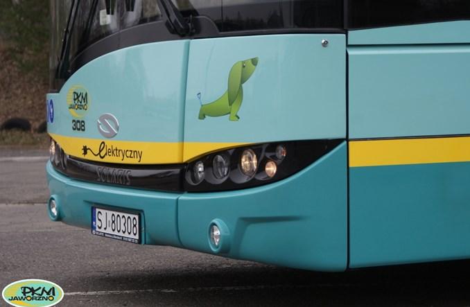Jaworzno już korzysta z autobusu elektrycznego