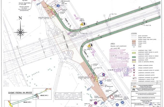 Kładka rowerowa pod mostem Łazienkowskim zatwierdzona