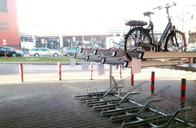 Piętrowy parking dla rowerów już przy Dworcu Głównym