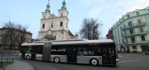 Kraków. 18-metrowa hybryda kursuje na linii nr 179