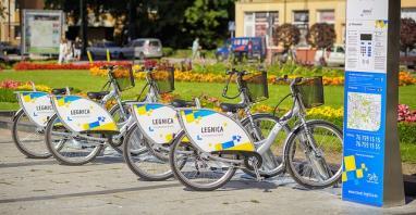 Nextbike operatorem Legnickiego Roweru Miejskiego