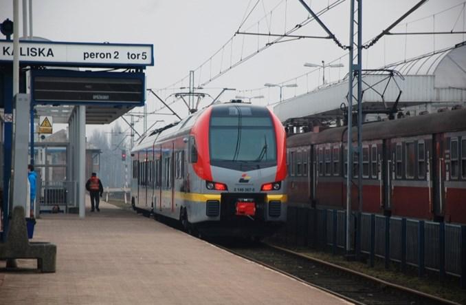 Łódź: Rozkłady kolei na przystankach miejskich