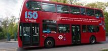 Londyn doda czerwonym autobusom trochę kolorów