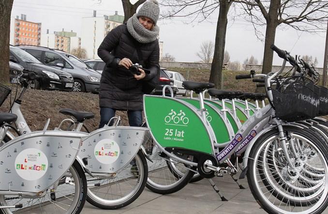 Lublin. Rower miejski na rekord