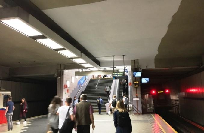 Metro: Politechnika wreszcie doczekała się remontu. Peron odzyska biel