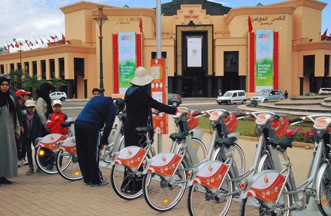 Marrakesz. Medina Bike, czyli pierwszy bike-sharing w Afryce