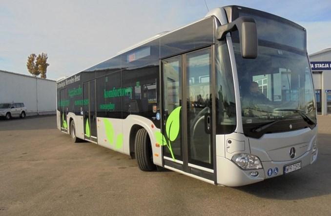Siedlce przyglądają się nowym technologiom w autobusach