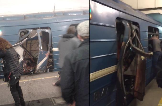 W petersburskim metrze doszło do wybuchu. Są ofiary