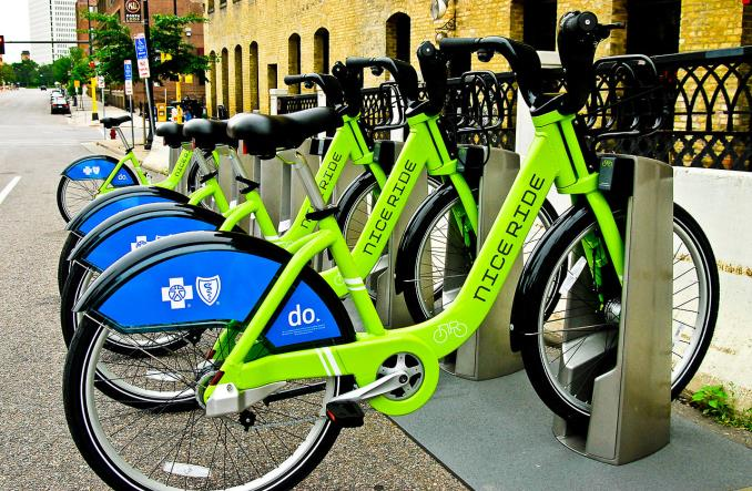 Rower to transport publiczny. Są dowody z Waszyngtonu i Minneapolis
