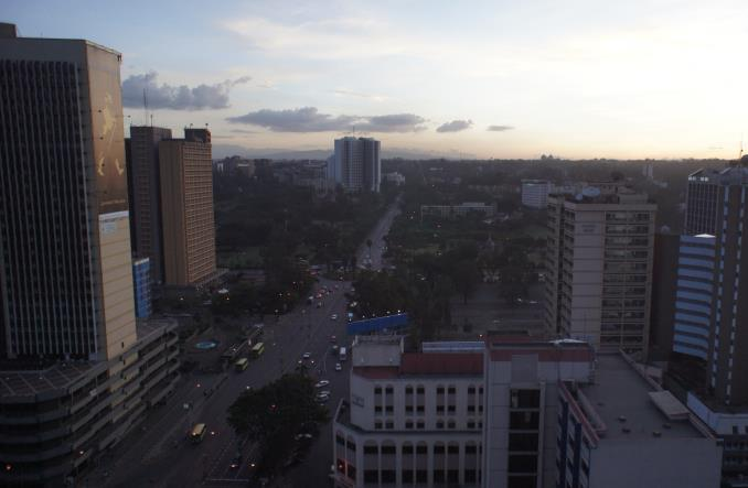 Nairobi. Matatu strajkują, korzystają boda–boda