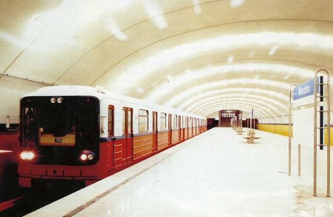 Warszawskie metro ma 20 lat