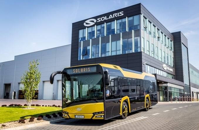 Pierwsze seryjne modele nowego Solarisa Urbino 10,5 znalazły nabywców