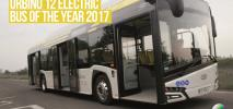 Elektryczny Solaris Urbino autobusem roku 2017!