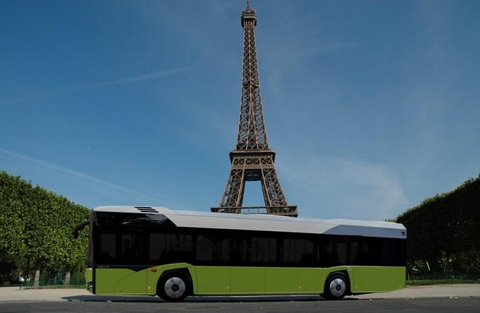 Paryż testuje autobus elektryczny firmy Solaris