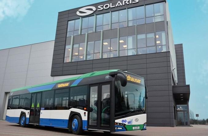 Martin Geldhauser odebrał cztery Solarisy nowej generacji