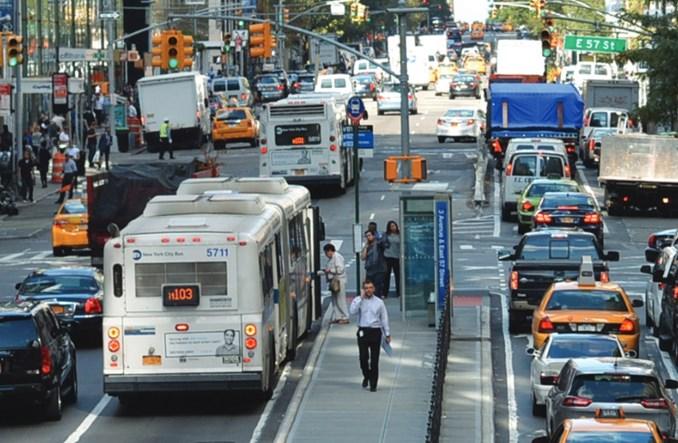Nowy Jork. Na Manhattanie rower szybszy niż taksówka