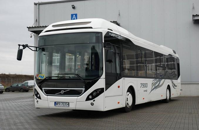 Olkusz testuje autobus hybrydowy od Volvo