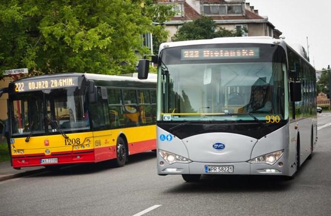 Warszawa w najbliższych latach pójdzie w autobusy elektryczne?