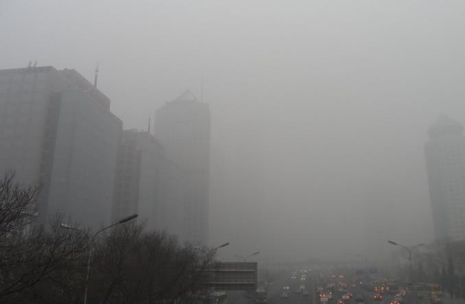 Pekin. Chińska policja antysmogowa