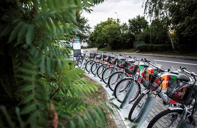 Poznań. Dwa razy więcej rowerów, trzy razy więcej wypożyczeń