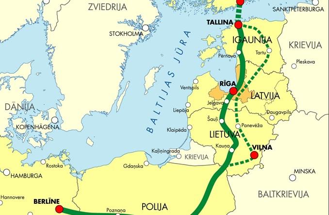 Rail Baltica a koleje pasażerskie w północno-wschodniej Polsce