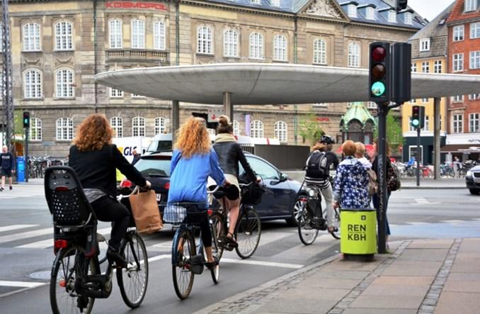 Kopenhaga. Rowerów więcej niż samochodów