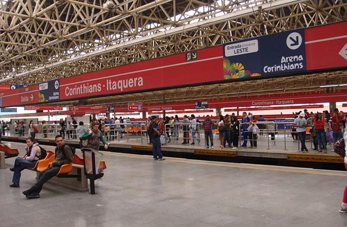 Sao Paulo. Wielki strajk w metrze, a w czwartek rusza mundial w Brazylii