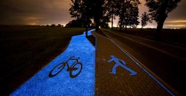 W ciągu roku kolejne świecące ścieżki rowerowe?