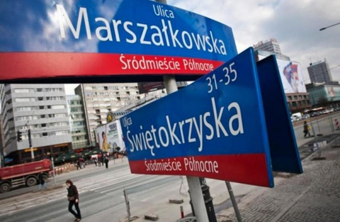 Warszawa: Rusza przebudowa pierwszego odcinka Świętokrzyskiej