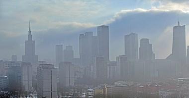 """Warszawa powołuje """"Biuro ds. smogu"""""""