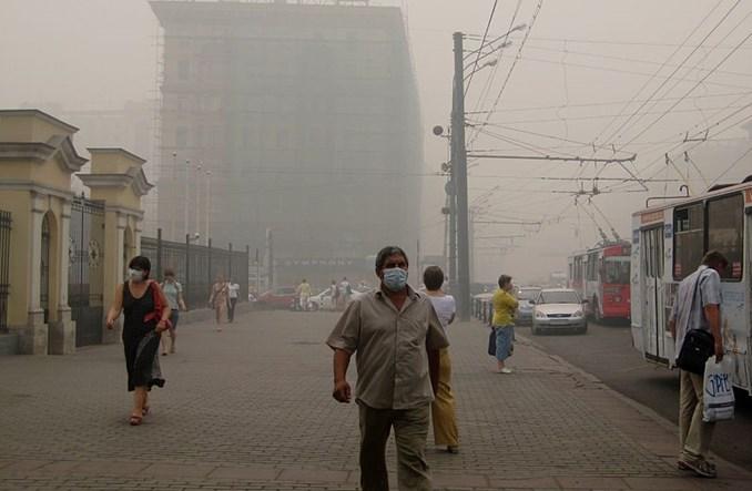 Czy z powodu smogu rezygnować z roweru? W Warszawie czasem tak