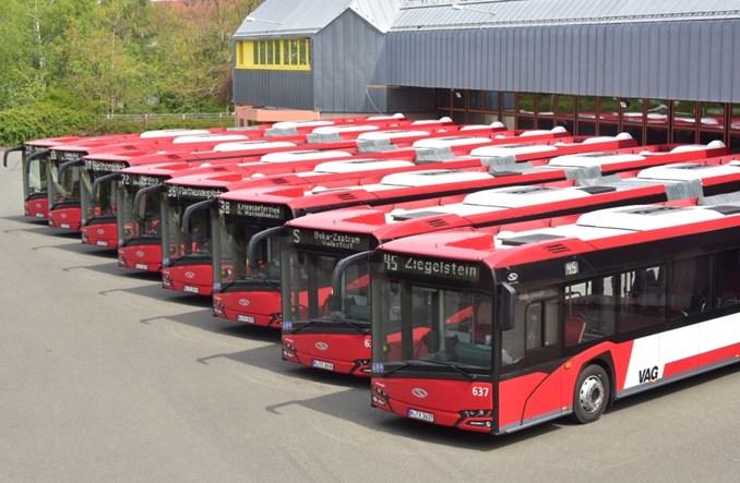 Norymberga. Solaris dostarczył osiem autobusów przegubowych