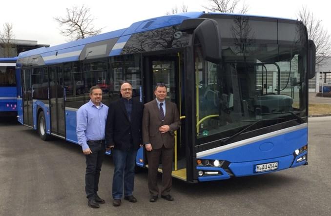 Solaris dostarczył autobus przyczepowy do Monachium