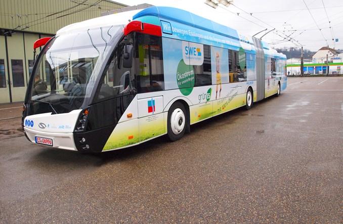 Innowacyjne trolejbusy Solarisa już kursują w niemieckim Esslingen