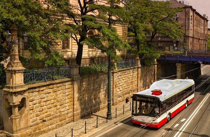 Solaris w Tel Awiwie, Jerozolimie i Nazarecie. W sumie 110 autobusów