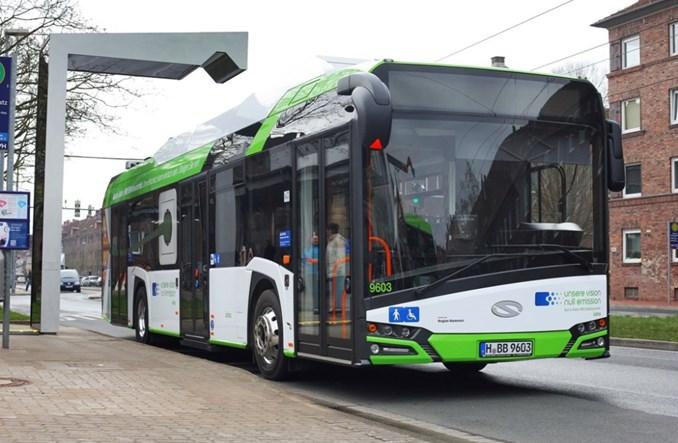 Elektryczne Solarisy Urbino rozpoczynają w Hanowerze erę elektromobilności