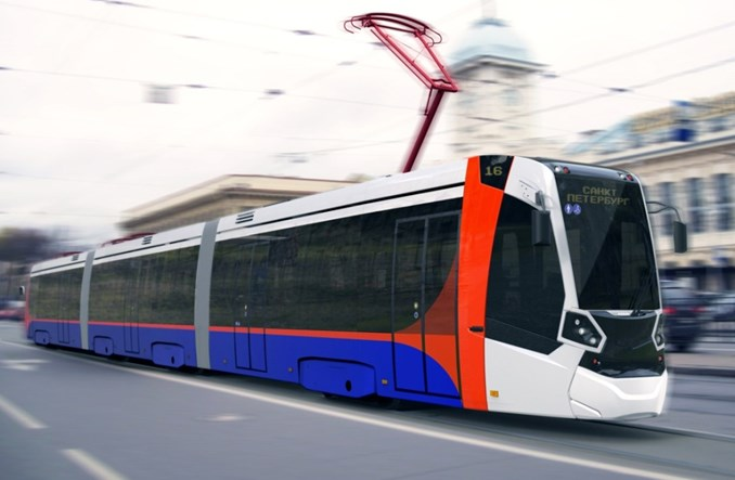 Za rok tramwaje Stadlera pojadą po torach Petersburga