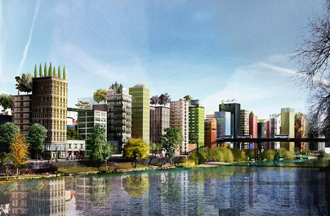 Nowy Sztokholm powstanie ponad poziomem ulicy?