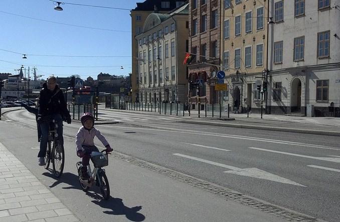 Sztokholm. Kierowcy zapłacą rowerzystom?
