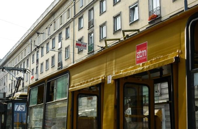 Warszawa: Tabor oklejany, żeby pasażerowie wiedzieli kto jest organizatorem