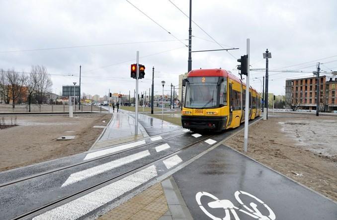 Warszawa: Tramwaje już jeżdżą na Tarchomin