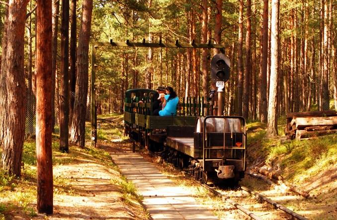 Zabytki kolei są także na Helu