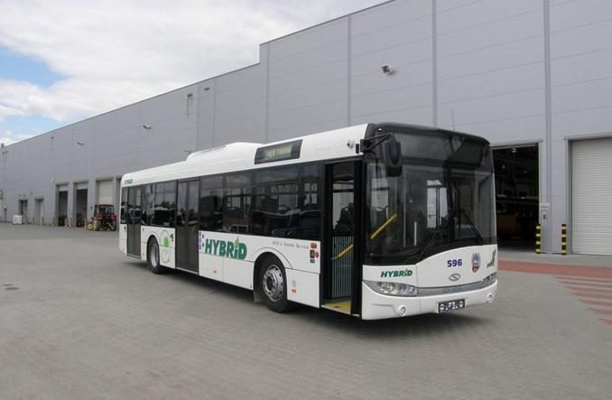 Pierwszy autobus hybrydowy w Toruniu