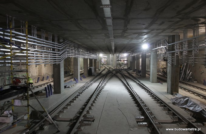 Metro na Targówku z rozbudowanym układem rozjazdów