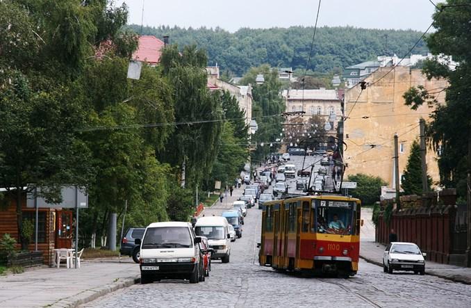 Lwów: 11 km nowych torów w budowie