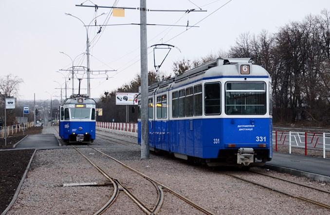 Winnica z nową linią tramwajową