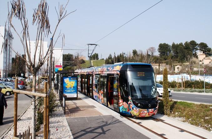 Aubagne: Nowy tramwaj bardzo popularny. Co z przedłużeniem?