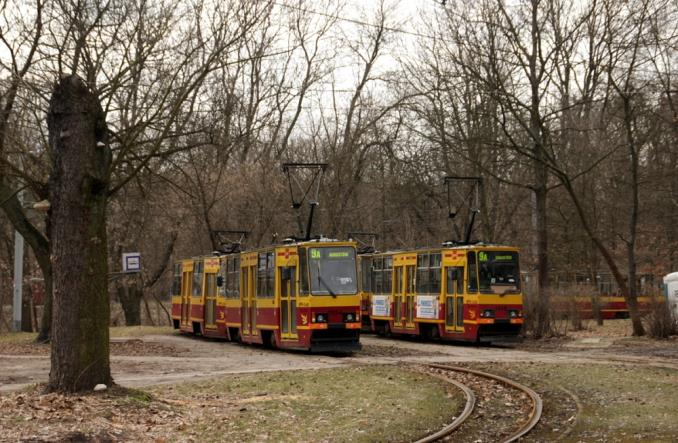 Łódź: Remontują tory do zajezdni-muzeum