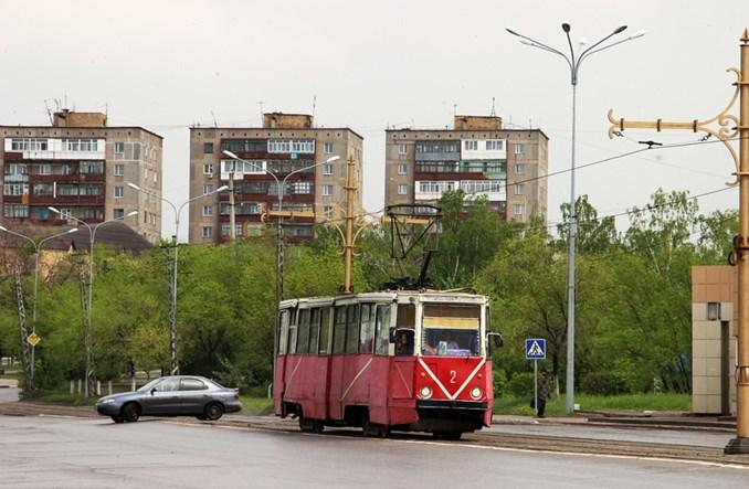 Kazachstan: Powolny upadek hutniczego tramwaju