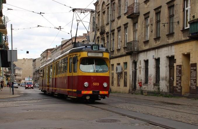 Łódź z ofertami na projekt odbudowy torów na Legionów i Koziny
